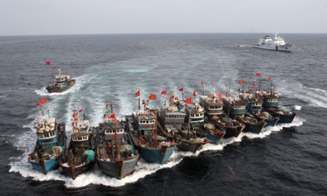 chinese boats, via AFP getty images and The Guardian